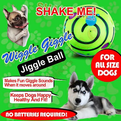 AU16.11 • Buy Wobble Wiggle Wag Jiggle Giggle Ball Pet Dog Ball