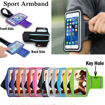 AU5.14 • Buy For OnePlus 7T Pro 6T 5T Universal Gym Sport Armband Bag Phone Case Cover
