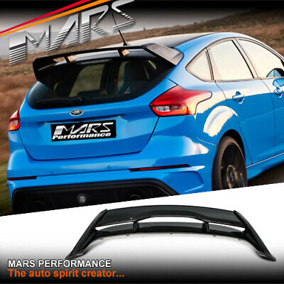 AU399.99 • Buy RS Style Trunk Spoiler Wing For Ford Focus LZ LW Hatch 12-18 Bodykit