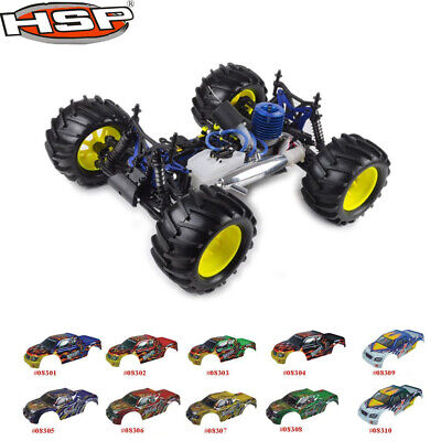 HSP 1:8 Scale Nitro Off Road Monster Truck Remote Control Off-Road Truck 94083 • 379.33£