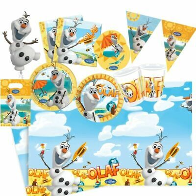£3.50 • Buy Disney Frozen Olaf Summer Party! Plates! Cups! Napkins!