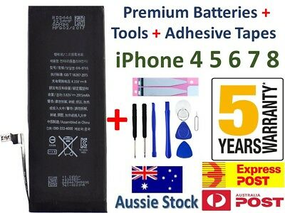 AU13.91 • Buy NEW IPhone Battery Replacement For Apple IPhone 8 7 6 S Plus 5s C SE +Tool &Tape