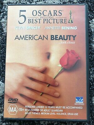 AU5 • Buy American Beauty - DVD - Kevin Spacey Annette Benning Chris Cooper