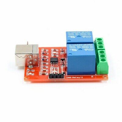£3.99 • Buy 5V USB Relay 2 Channels Board Module Computer PC Smart Control Switch Controller