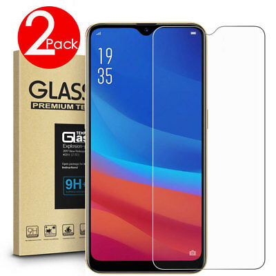 AU4.99 • Buy 2 PACK Premium 9H Tempered Glass Screen Protector F OPPO A53S A52 A72 A91 A9 A5