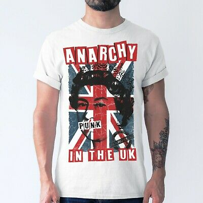 £10.95 • Buy Mens 70s Punk Rock T Shirt Anarchy In The UK Sex Pistols Music Gift Idea For Him