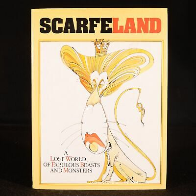 £84.50 • Buy 1989 Scarfe Land Gerald Scarfe First Edition Signed Illustrated