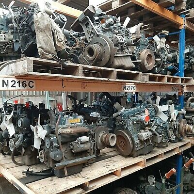 Used Diesel Engines , Kubota, Iseki, Mitsubishi, Yanmar, Perkins, Ford • 400£