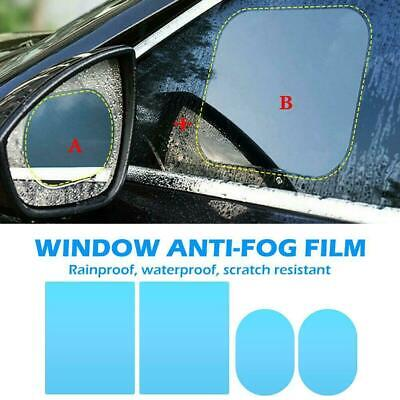 4x Car Anti-fog Rainproof Sticker Side Mirror Window Protective Film Rain Shield • 4.99£