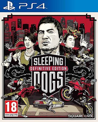 £13.49 • Buy Sleeping Dogs Definitive Edition Sony PS4 * PLAYSTATION 4 * BRAND NEW & SEALED *