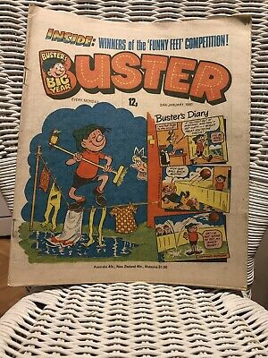 Vintage Buster Comic, January 1981 • 4.20£