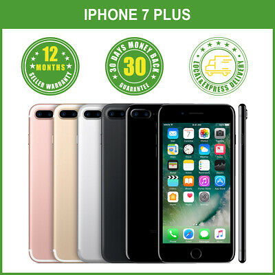 AU515.99 • Buy Apple IPhone 7 Plus+ 32/128/256GB 4G LTE Colours Factory Unlocked In Box