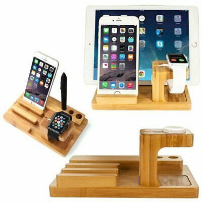 Charging Dock Stand Station Holder For Apple Watch IWatch IPad IPhone X XS 8 Tab • 17.95£