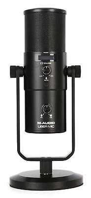 $109 • Buy M-Audio Uber Mic - USB Microphone With Headphone Output
