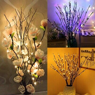 Romantic Twigs With LED Waterproof Bead Lights Branch Decorative Fairy Twig Lamp • 8.99£