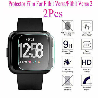 $ CDN1.22 • Buy Soft TPU TPU Screen Protector Film For Fitbit Versa/Fitbit Versa 2 Hot