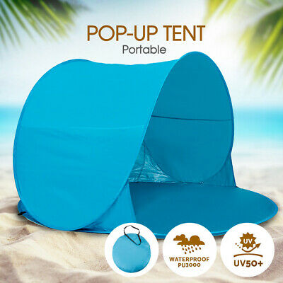 AU28.83 • Buy Beach Portable Pop Up Camping Tent Hiking Sun Shade Shelter Fishing