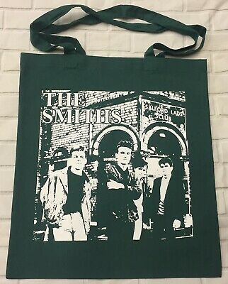£3.50 • Buy The Smiths - Salford Lads - Bottle Green Tote/Shopper Bag