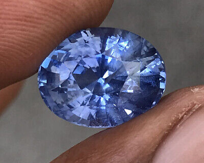 10.05 Tcw Natural Unheated Ceylon Cornflower Blue Sapphire. • 8,500$