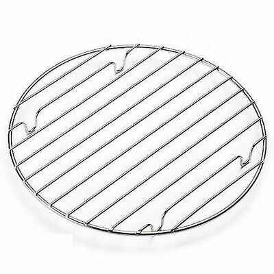 10'' Chrome Non-Stick Round Cooling Rack Cake Cookie Pastry Muffin Bake Ware • 33.49£