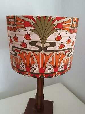 Stunning Vintage Heals Fabric Lampshade Made To Order  • 32£