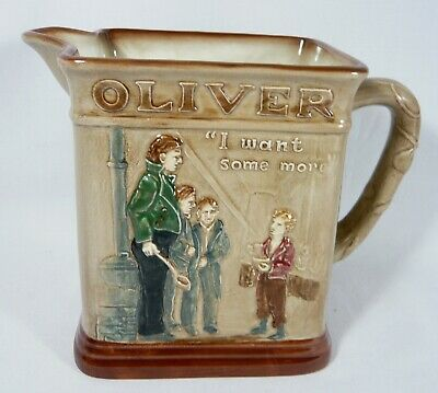 $ CDN44.99 • Buy Royal Doulton Dickens Wear Series OLIVER TWIST  Oliver Asks For More   PITCHER