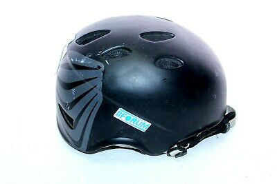 RED HiFi 1077 Size 60 Large Snowboard Helmet Black With Chin Strap And Inserts • 24.98$