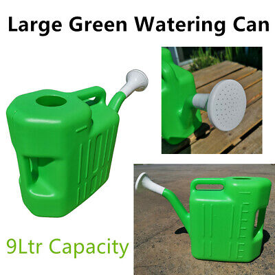 AU24.95 • Buy Large Watering Can 9L Garden Water Plastic Tool Plant Flower Outdoor Tree Pot