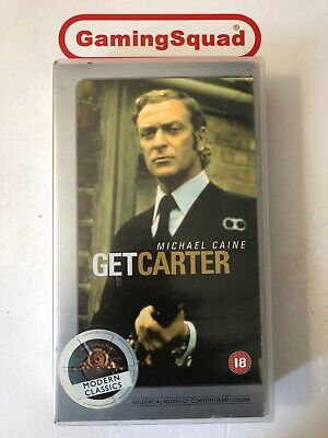 Get Carter (Modern Classics) VHS Video Retro, Supplied By Gaming Squad  • 5.45£