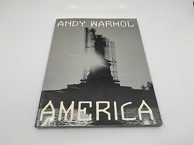 $85 • Buy America By Andy Warhol (1985, Soft Cover)