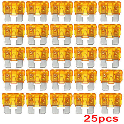 $ CDN3.32 • Buy 25 Pack 5 Amp ATC ATO Blade Fuse Kit Car Auto Marine Boat Truck Motorcycle 5A