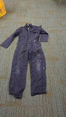 Ladies Or Mens Use Navy Blue Colour Proban Boilersuit Or Overalls. • 10£