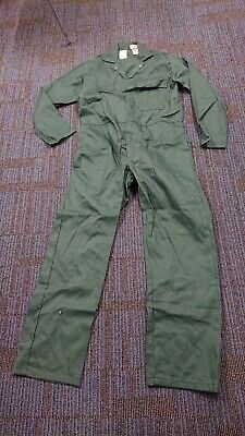 Ladies Or Mens Green Colour Proban Boilersuit Or Overalls. • 13£