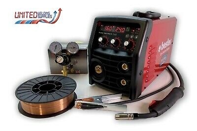 £515 • Buy Lincoln Bester 190C Multi Process MIG Welder Package 230v, With 2 Year Warranty