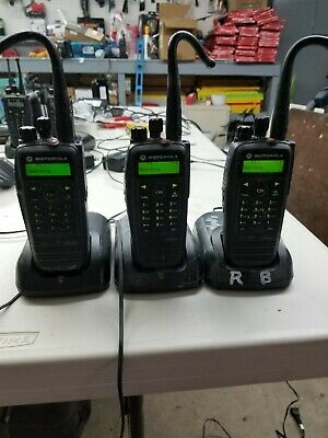 LMotorola XPR 6550 Radios With Microphones Chargers  Lot Of 3 Electronic Surplus • 756.93$