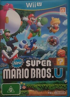 AU24.95 • Buy New Super Mario Bros U On Wii U