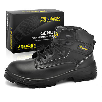 AU56.85 • Buy Safetoe Work Shoes Safety Boots Steel Toe Water Resistant Breathable Cycling ESD