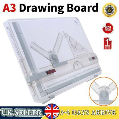 Ergonomic A3 Office Drawing Board Table   Technical Design Bar Kit • 19.99£