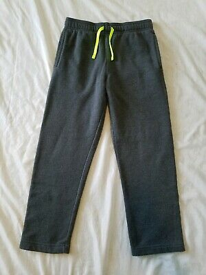 $5.99 • Buy Boys Tek Gear Gray Sweatpants Size 8 Small Drawstring Stretch Waist Fleece