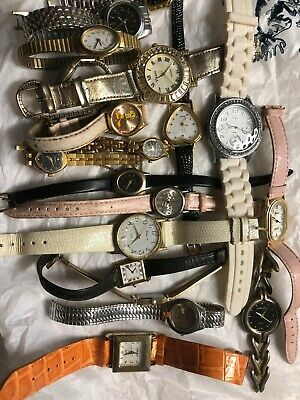 $ CDN15.80 • Buy Lot Of 19 Women Vintage Watches For Collectors No Guarantee If They Work