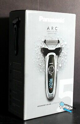 View Details Panasonic ES-LV65-S Arc5 Men's 5-Blade Cordless Electric Razor With Shave Sensor • 104.99£