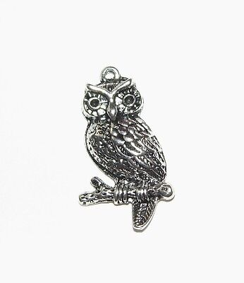 6 Owl Charms; Great For Jewellery Making And Crafting • 2.19£