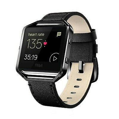 $ CDN23.30 • Buy Andyou For Fitbit Blaze Bands Leather With Frame Small Large (5 -8.2 ), G... New