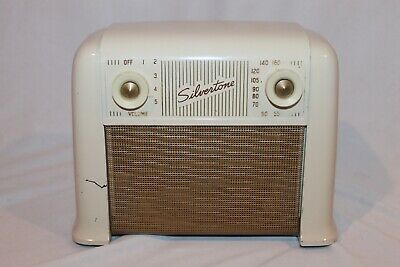 $ CDN126.86 • Buy Vintage 1948 Silvertone 8000 Tube Radio - RESTORED AND RECAPPED