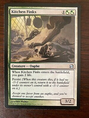 $1.95 • Buy 1x Kitchen Finks Magic The Gathering MTG Modern Masters 2013