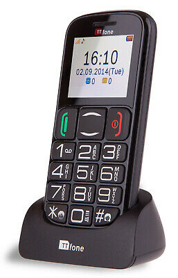 TTfone Mercury 2 Pay As You Go Big Button Senior Mobile Phone With Large Display • 21.99£