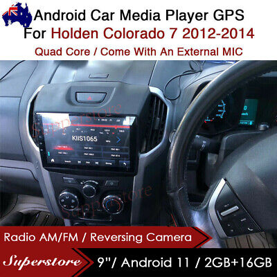 "AU399 • Buy 9"" Android 9.1 Car Stereo Media Player GPS Head Unit For Holden Colorado 7"