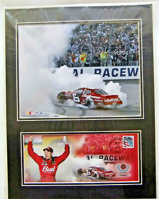 $14.95 • Buy Dale Earnhardt Jr Mounted Photo Sealed Menards No 8 Car And First Day Cover