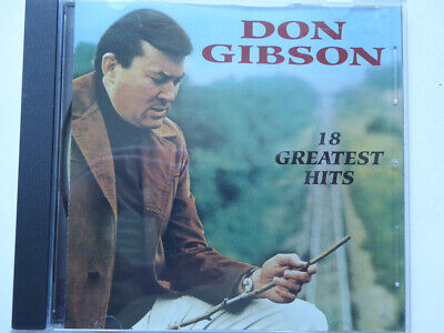 £6.01 • Buy DON GIBSON <  18 Greatst Hits (Curb)  > NM (CD)