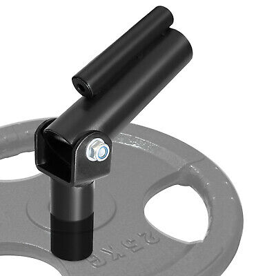 $30.14 • Buy A2ZCARE T Bar Row Plate Post Insert Landmine - Fits 1 And 2 Inches Olympic Bars